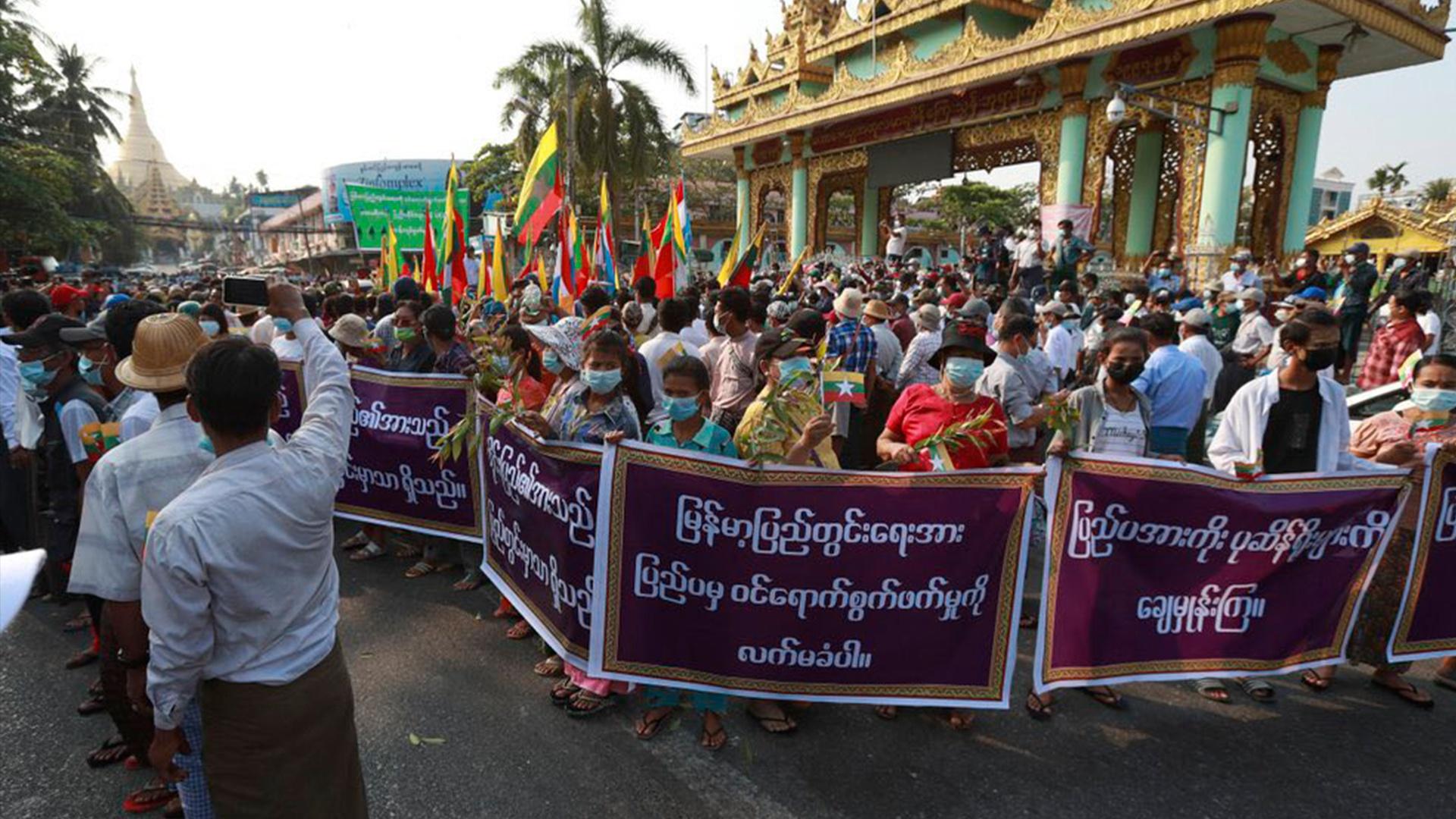СМИ: государственная власть в Мьянме переходит к главнокомандующему ВС