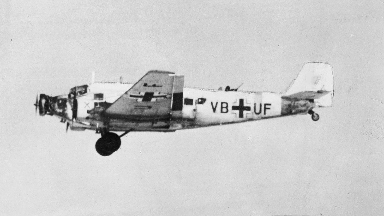 Ju-52, германский транспортный самолет<figcaption class=