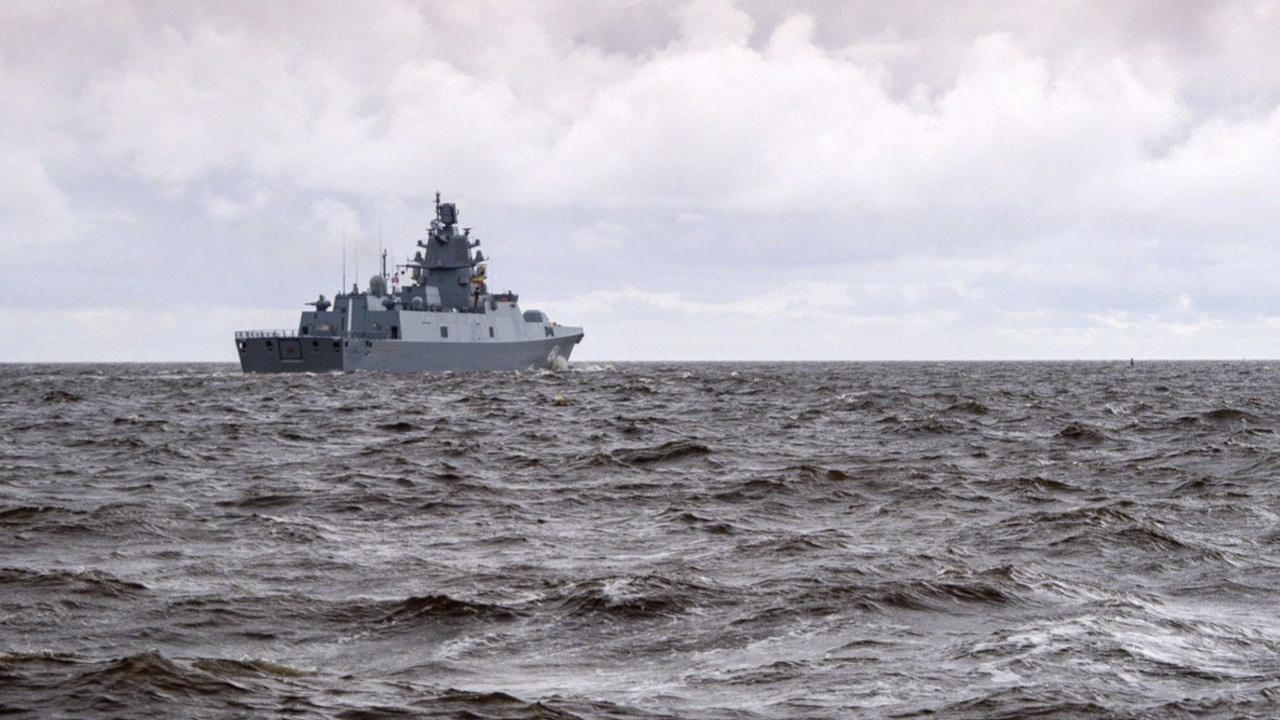 Фрегат «Адмирал Касатонов» зашел в порт Греции