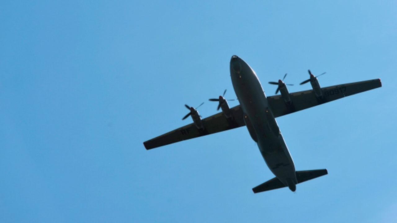 Самолет Ан-12 потерпел аварию при посадке на острове Итуруп