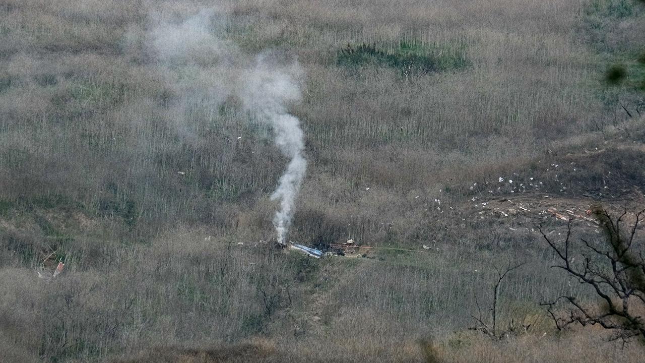 В США назвали причину крушения вертолета Коби Брайанта