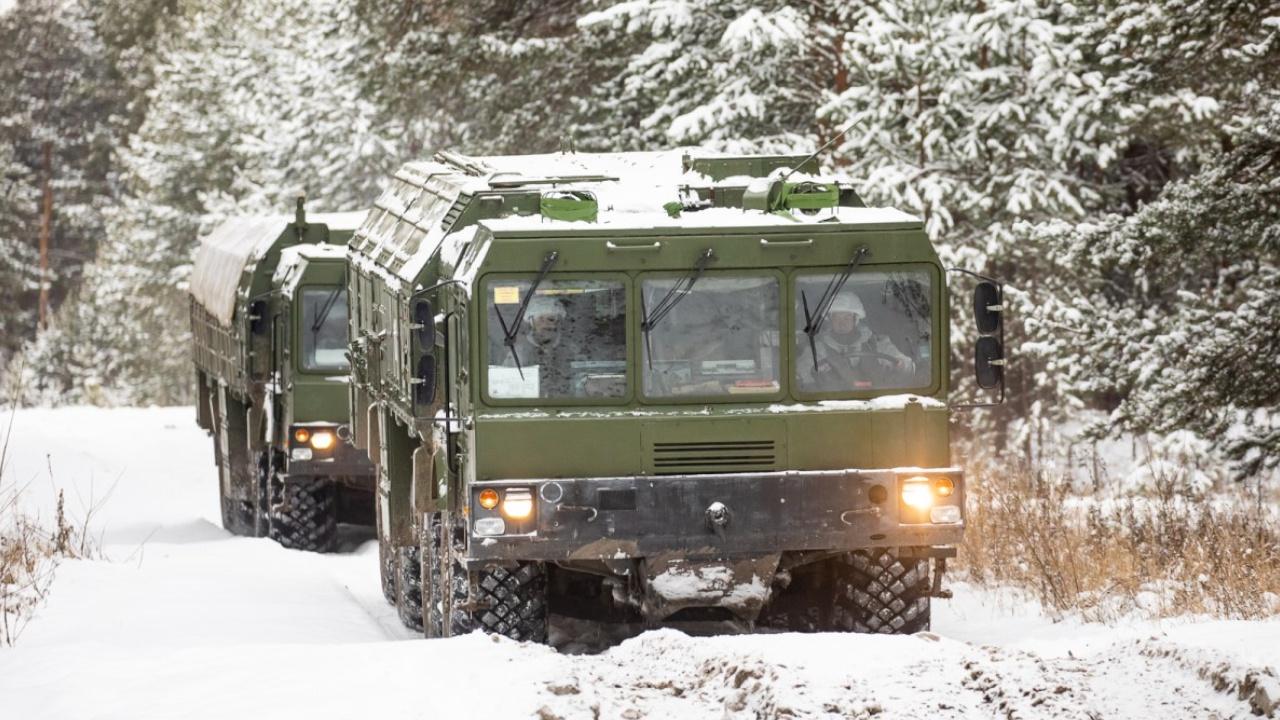 Доставить и защитить: ракетчики Ленобласти провели конкурс по транспортировке ракет к «Искандеру-М»