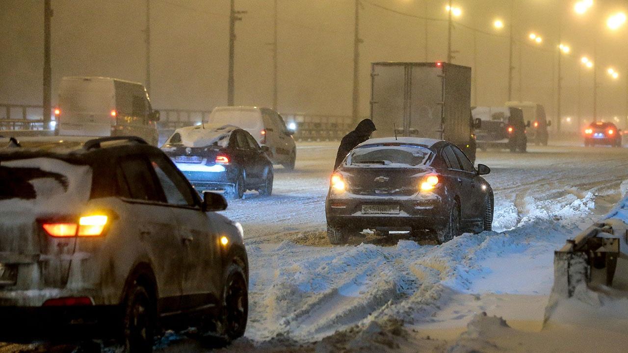В Москве из-за гололедицы объявлен «желтый» уровень погодной опасности