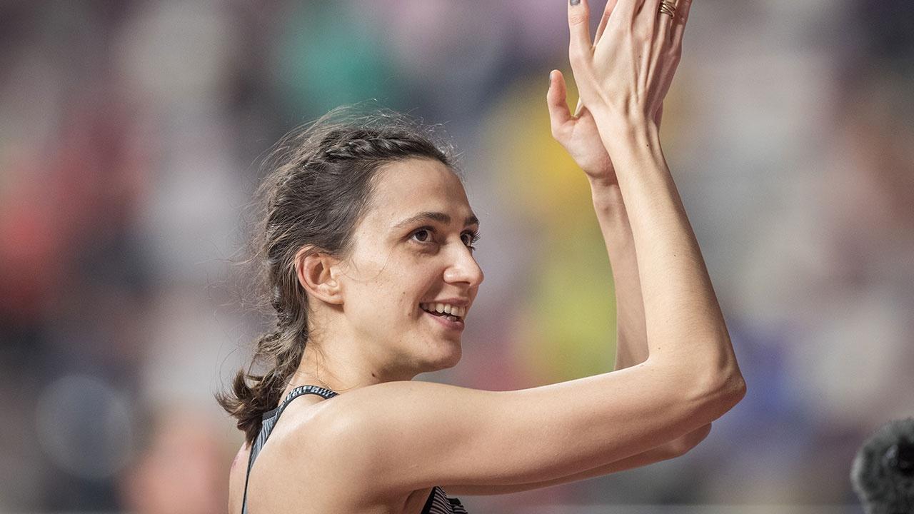 Ласицкене одержала победу в прыжках в высоту на чемпионате России в помещении