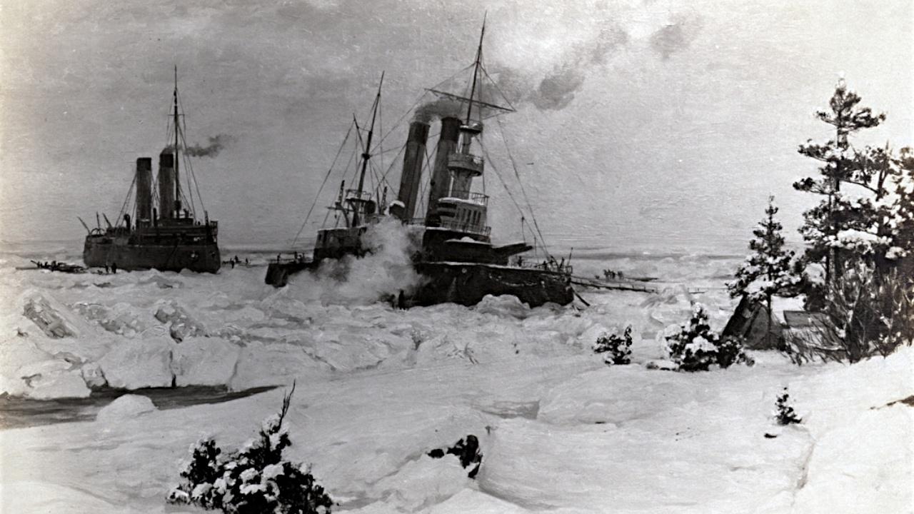 Не дать в обиду корабли: как несколько ледоколов спасли весь Балтийский флот