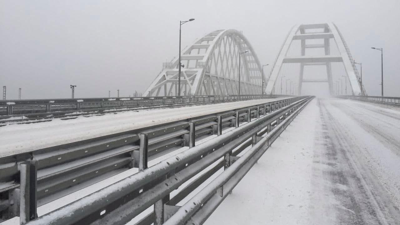 Крымский мост заработал в штатном режиме