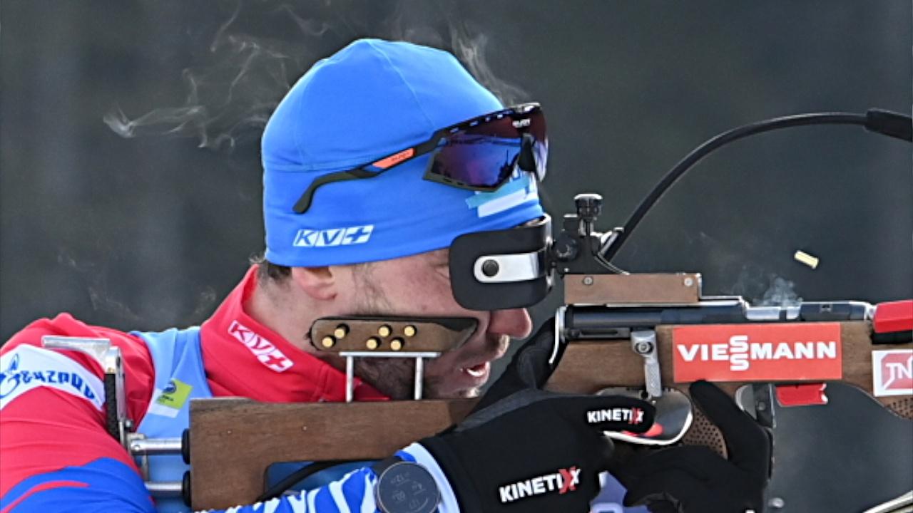 Российские биатлонисты завоевали первую медаль на чемпионате мира