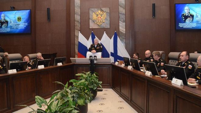 Оперативный сбор руководящего состава ВМФ завершил свою работу в Севастополе