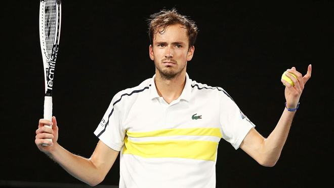 Даниил Медведев поднялся на третье место рейтинга лучших теннисистов ATP