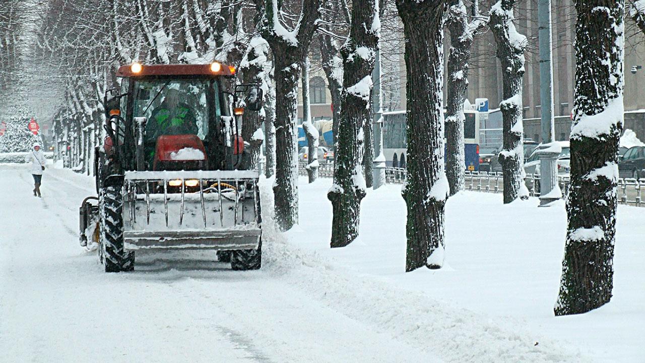 Прошедшая ночь в Москве стала самой морозной за всю зиму