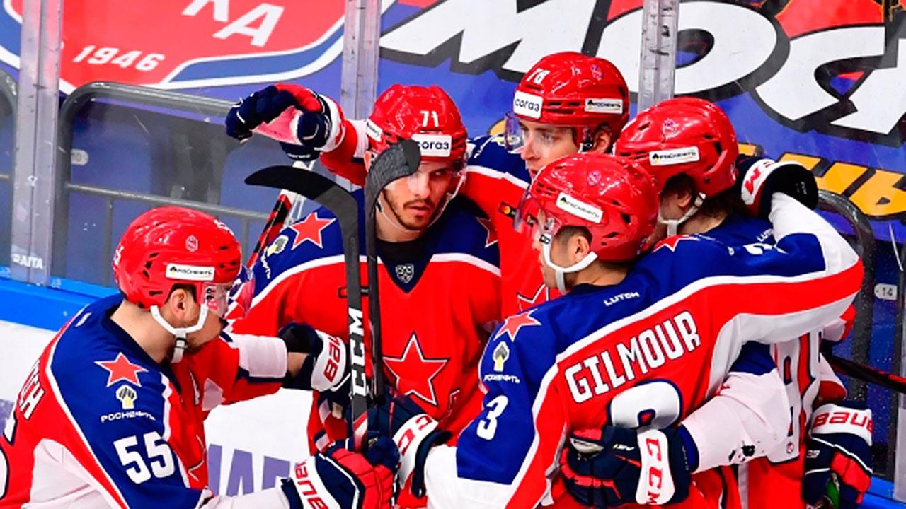 Стали известны все участники плей-офф КХЛ