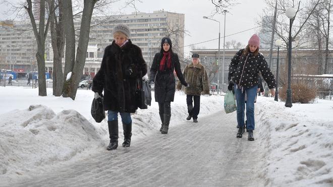 В Москве продлили «желтый» уровень погодной опасности