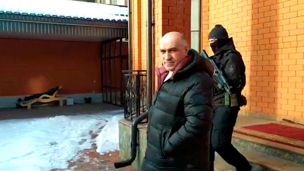 В Назрани задержан бывший глава МВД Ингушетии