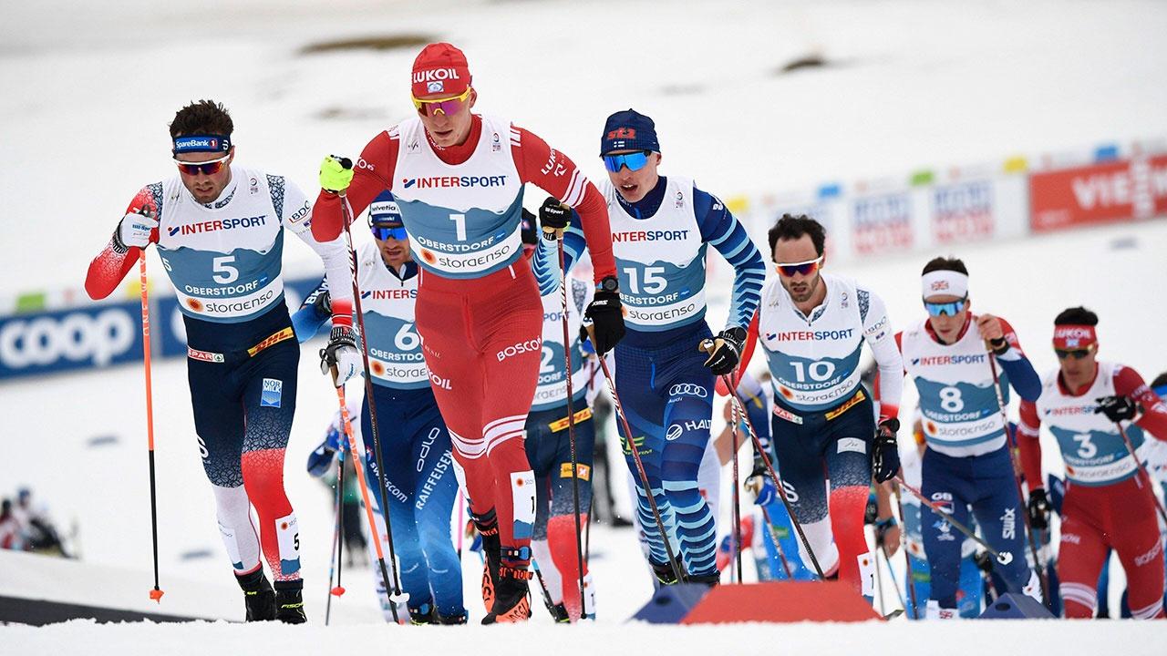 Российский лыжник Большунов победил в скиатлоне на ЧМ в Оберстдорфе