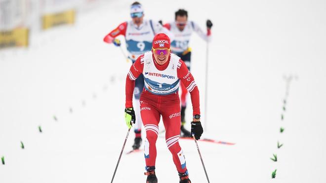 Лыжники Большунов и Ретивых заняли третье место в командном спринте на ЧМ