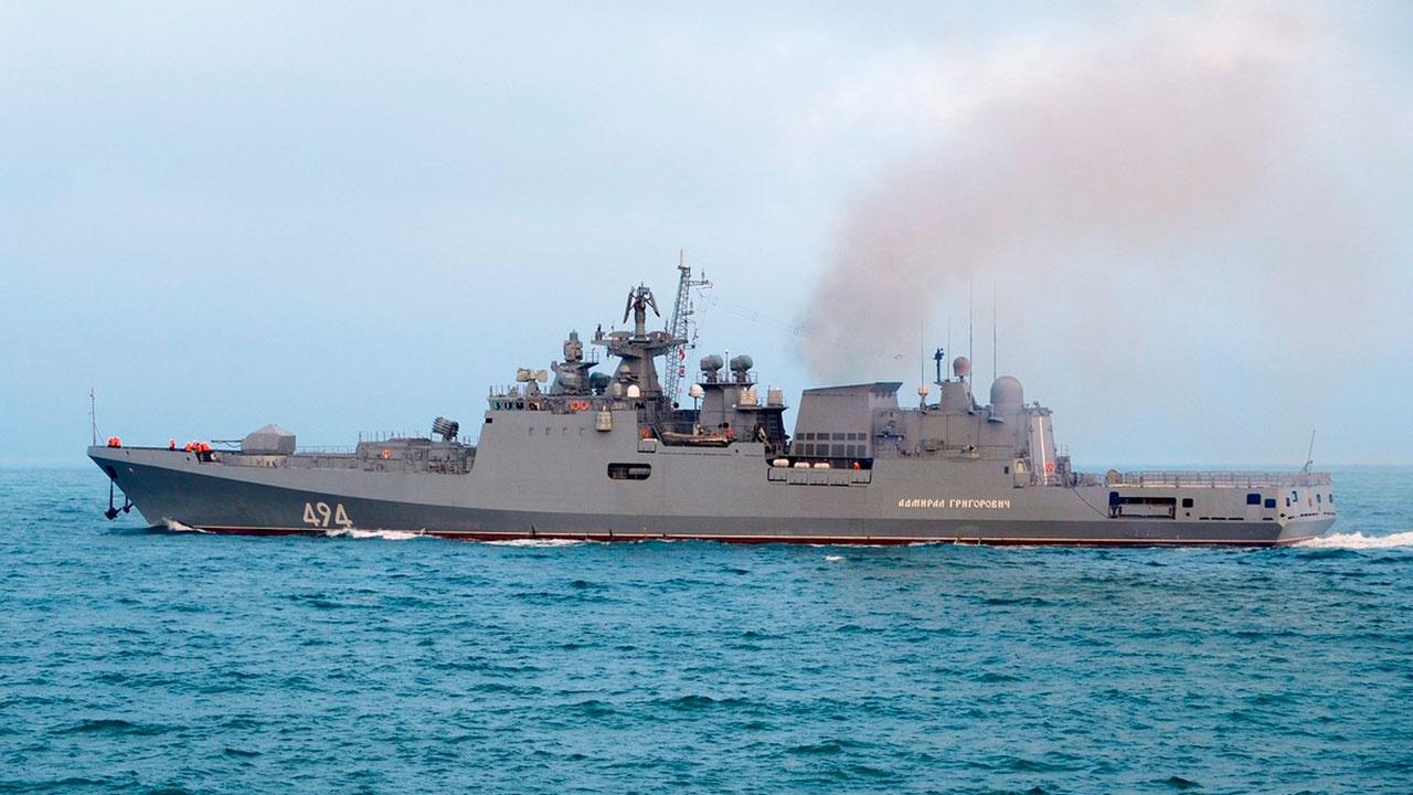 Фрегат «Адмирал Григорович» впервые в новейшей истории РФ зашел в Порт-Судан