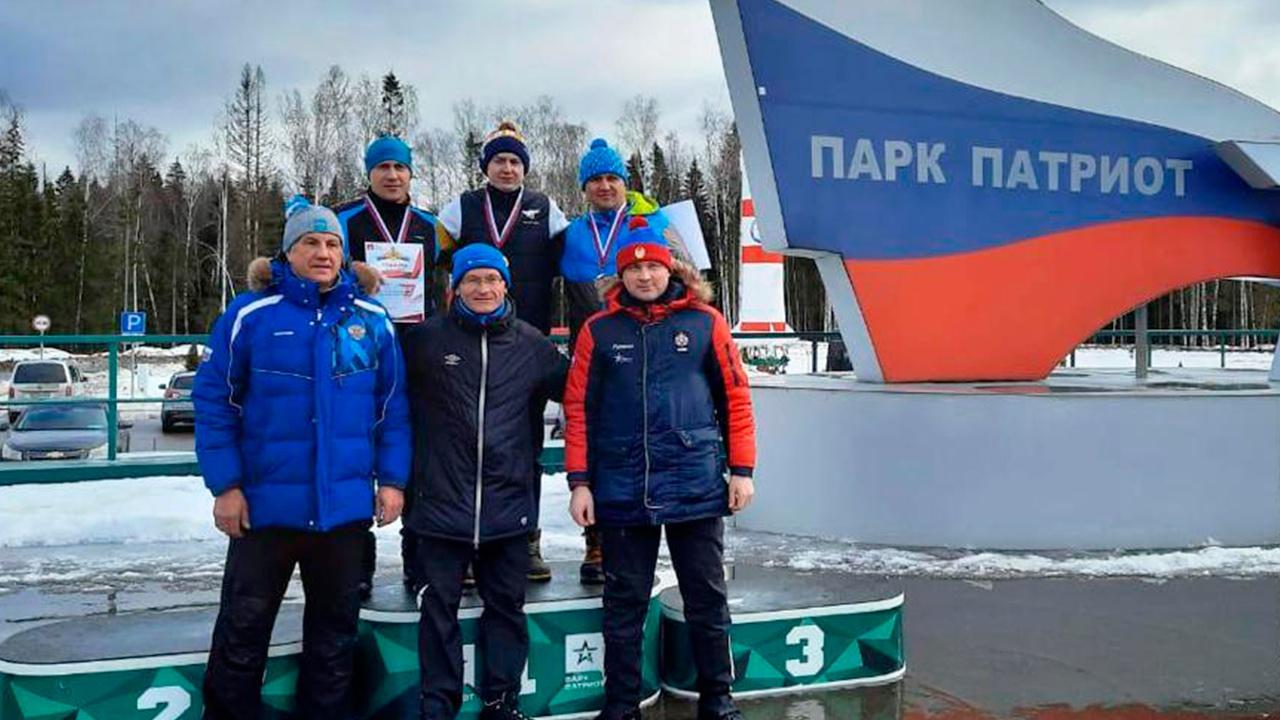 В парке «Патриот» прошли массовые соревнования по лыжным гонкам