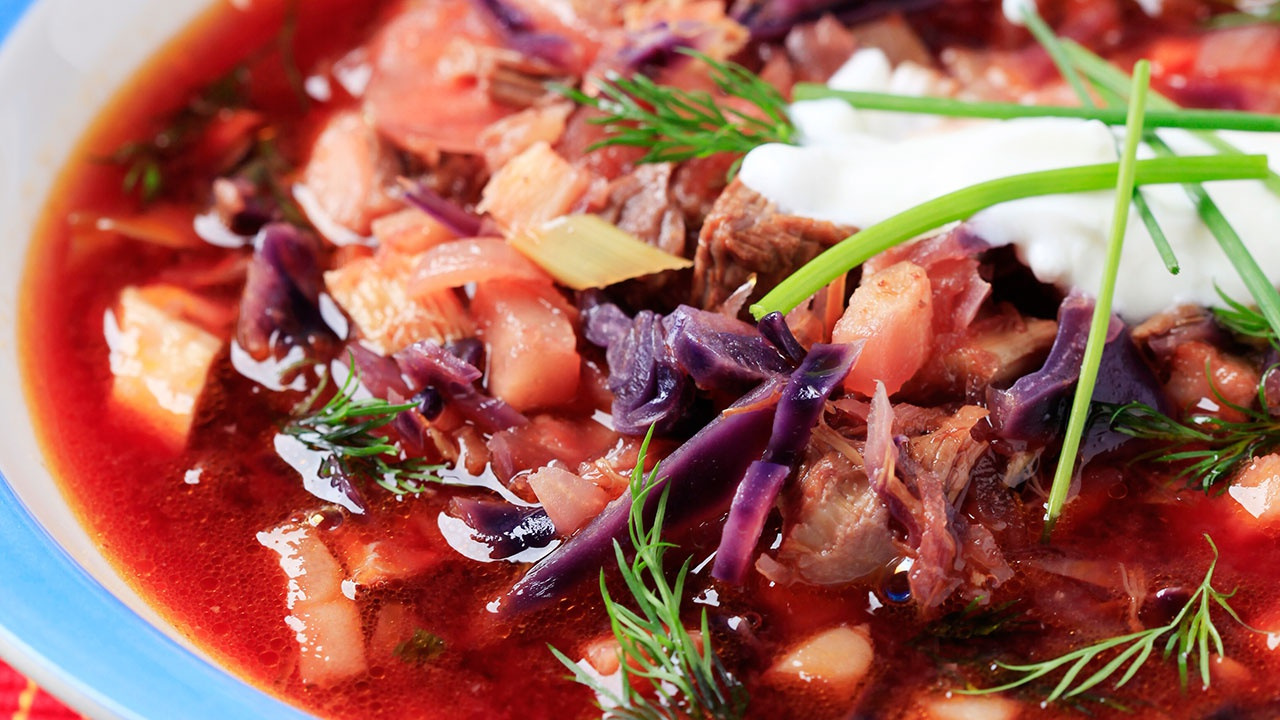 Борщ вошел в рейтинг лучших супов мира