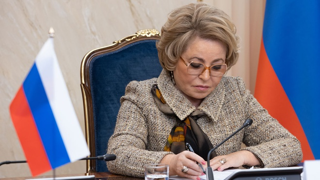Матвиенко заявила о необходимости разработать меры для игнорирующих законы РФ IT-компаний