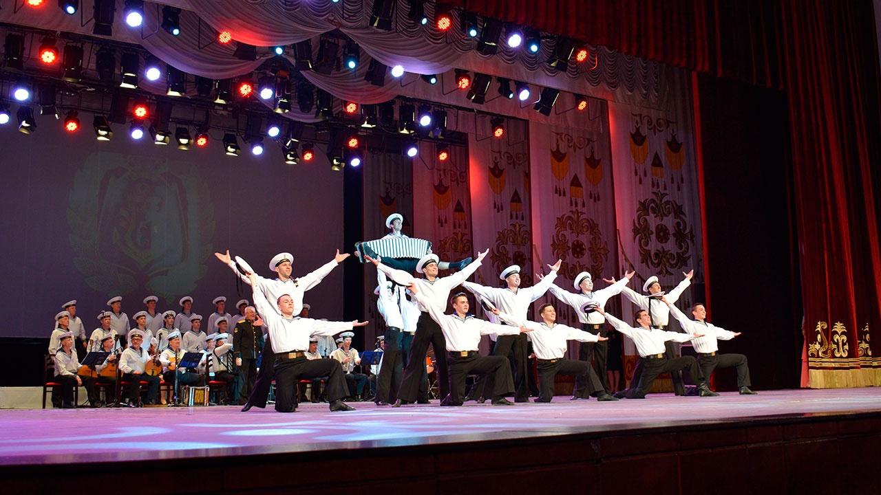 Ансамбль песни и пляски Черноморского флота открыл гастроли в Киргизии
