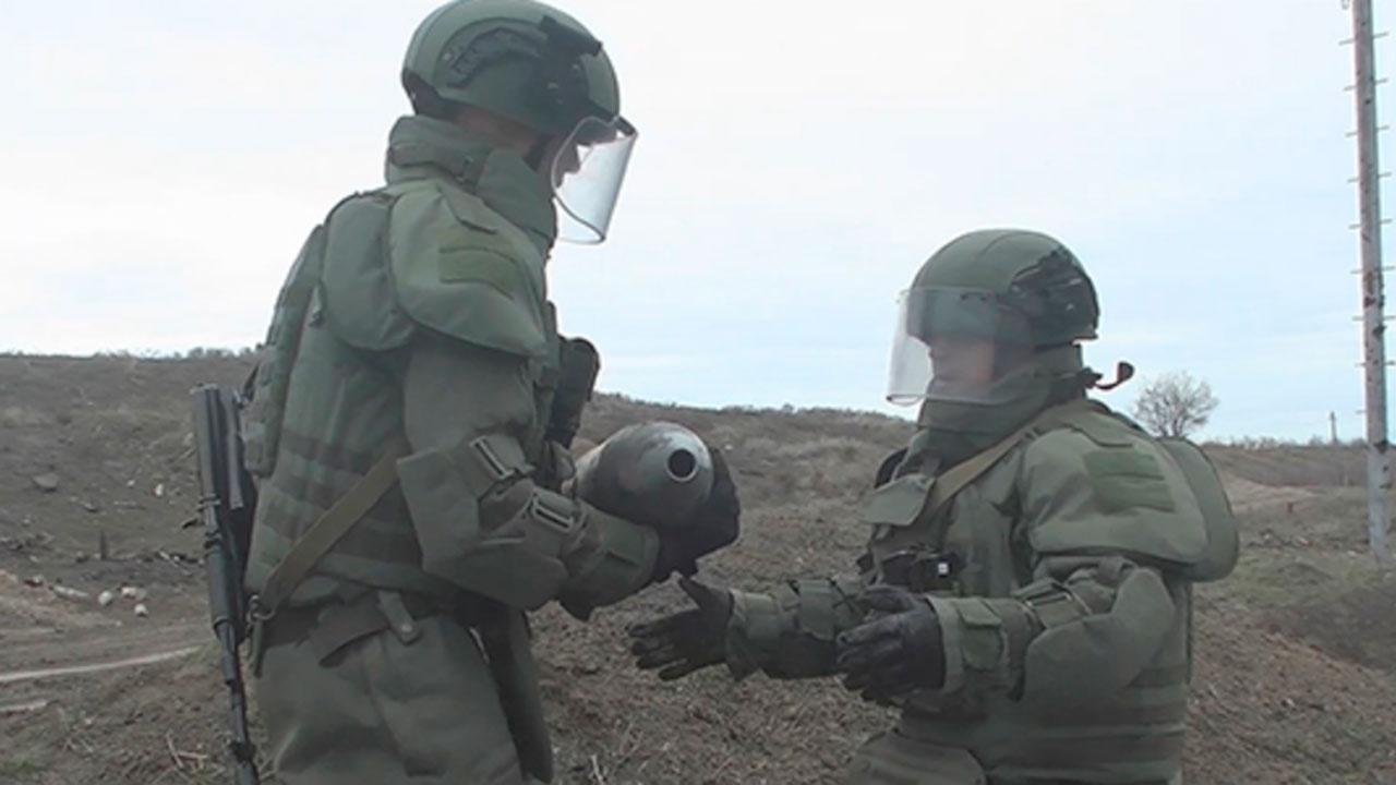 Российские саперы обезвредили почти 25 тысяч взрывоопасных предметов в Нагорном Карабахе