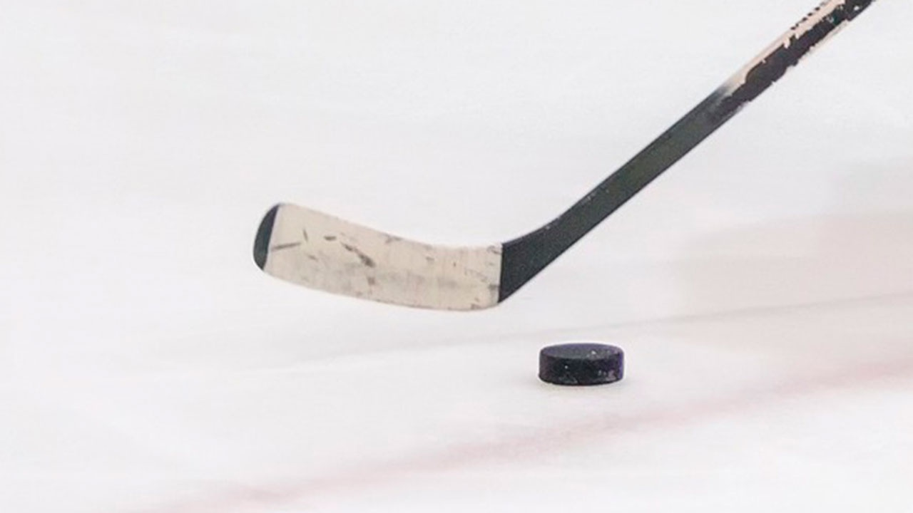 Арбитр покинул лед на носилках во время матча плей-офф КХЛ