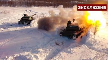 Снежные «Акации»: артиллеристы показали сверхточную стрельбу в условиях Крайнего Севера