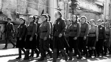 В преддверии 8 марта на сайте Минобороны запущен раздел об участницах Великой Отечественной войны