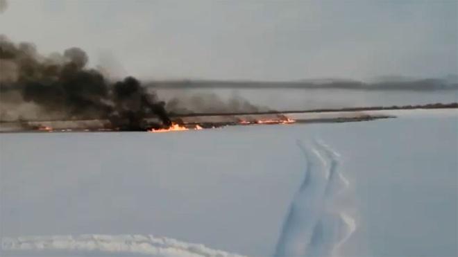 После аварии на трубопроводе в ХМАО началось расследование