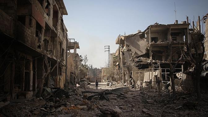 ЦПВС: при разгоне боевиками мирного митинга в Сирии пострадали 15 человек