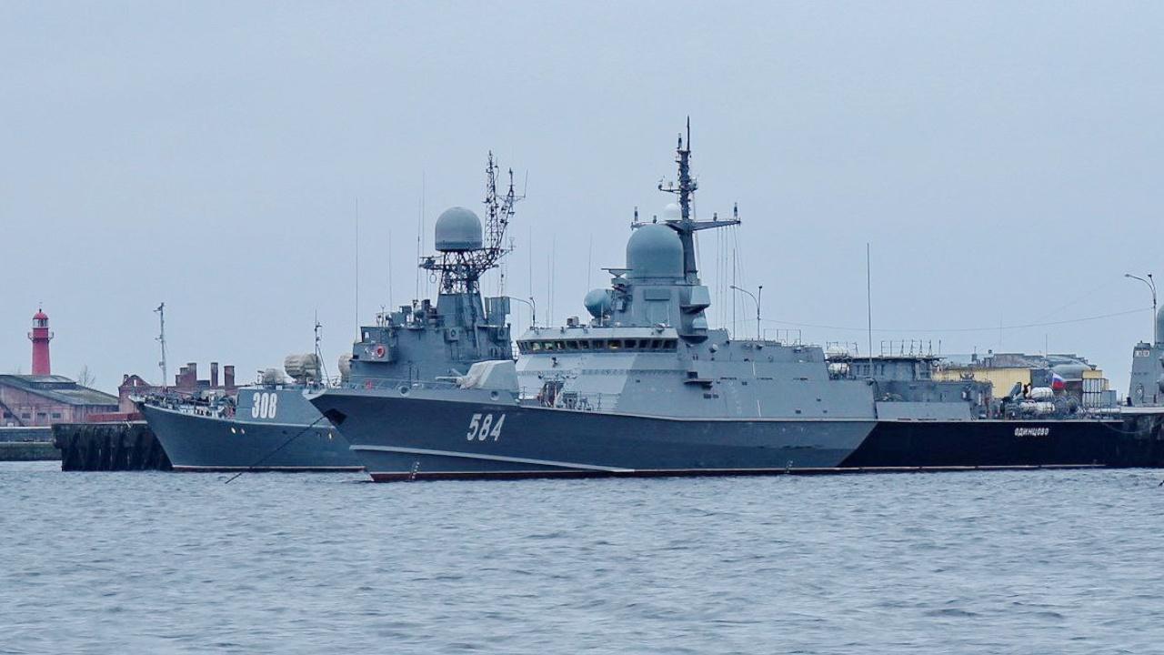 Малые ракетные корабли Балтфлота «потопили» «Калибрами» группировку условного противника