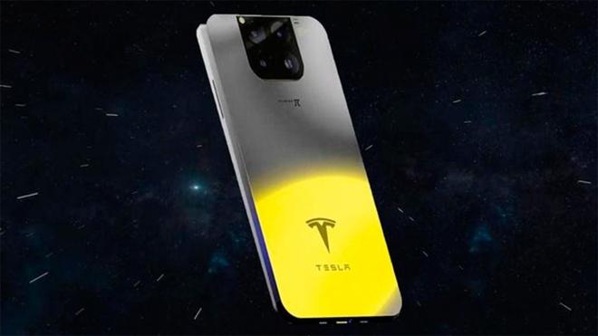 Опубликованы изображения первого смартфона Tesla