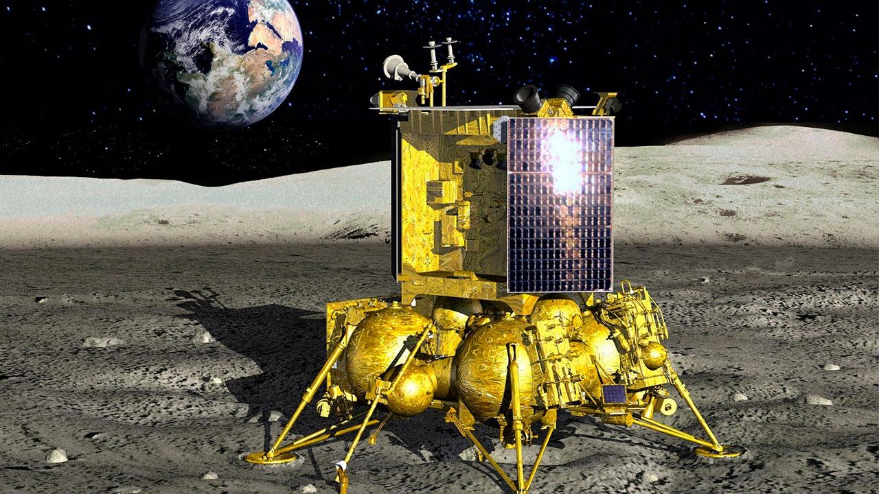 Российская межпланетная станция «Луна-28» станет модулем для высадки человека на Луну