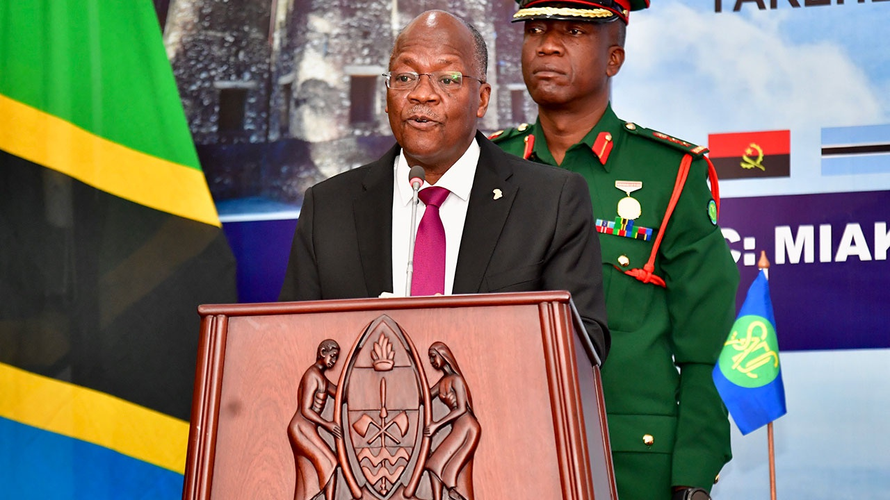 СМИ: умер президент Танзании Джон Магуфули