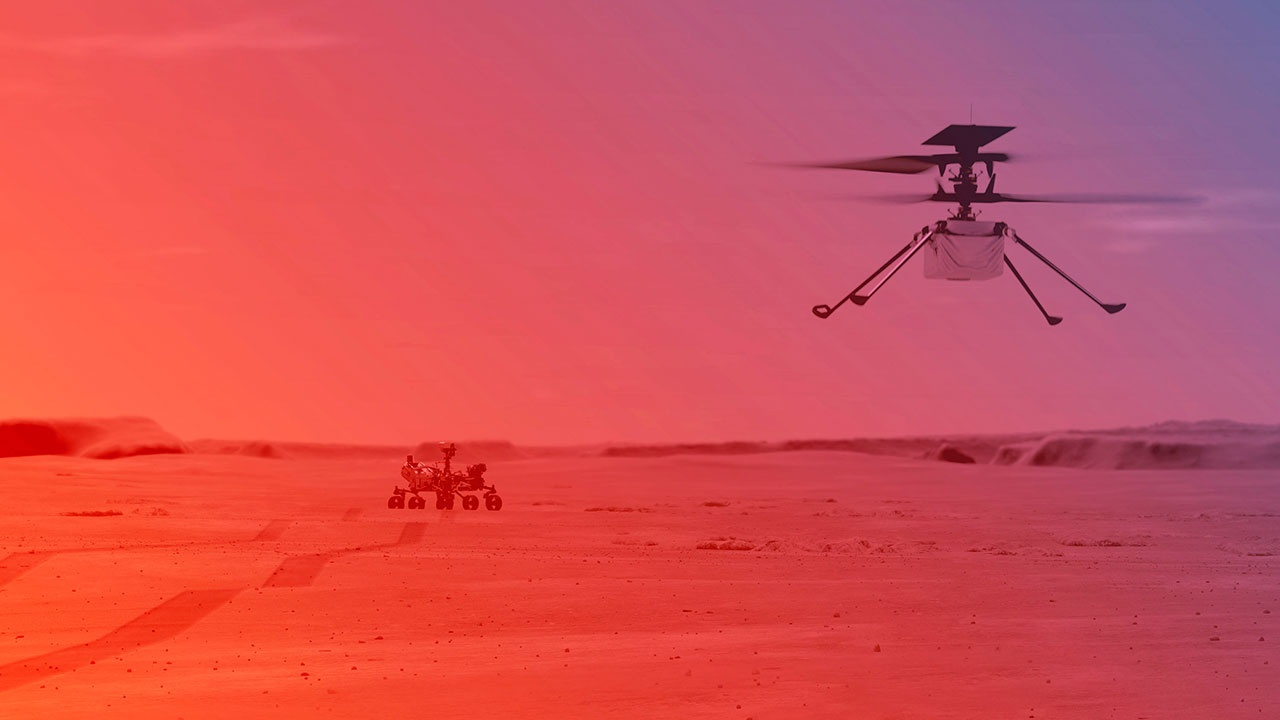 Perseverance записал звуки своего передвижения на Марсе