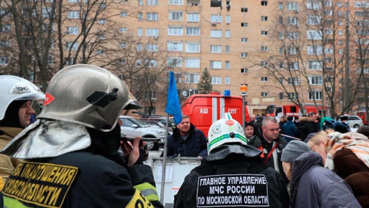 Жильцов пострадавшего дома в Химках эвакуировали