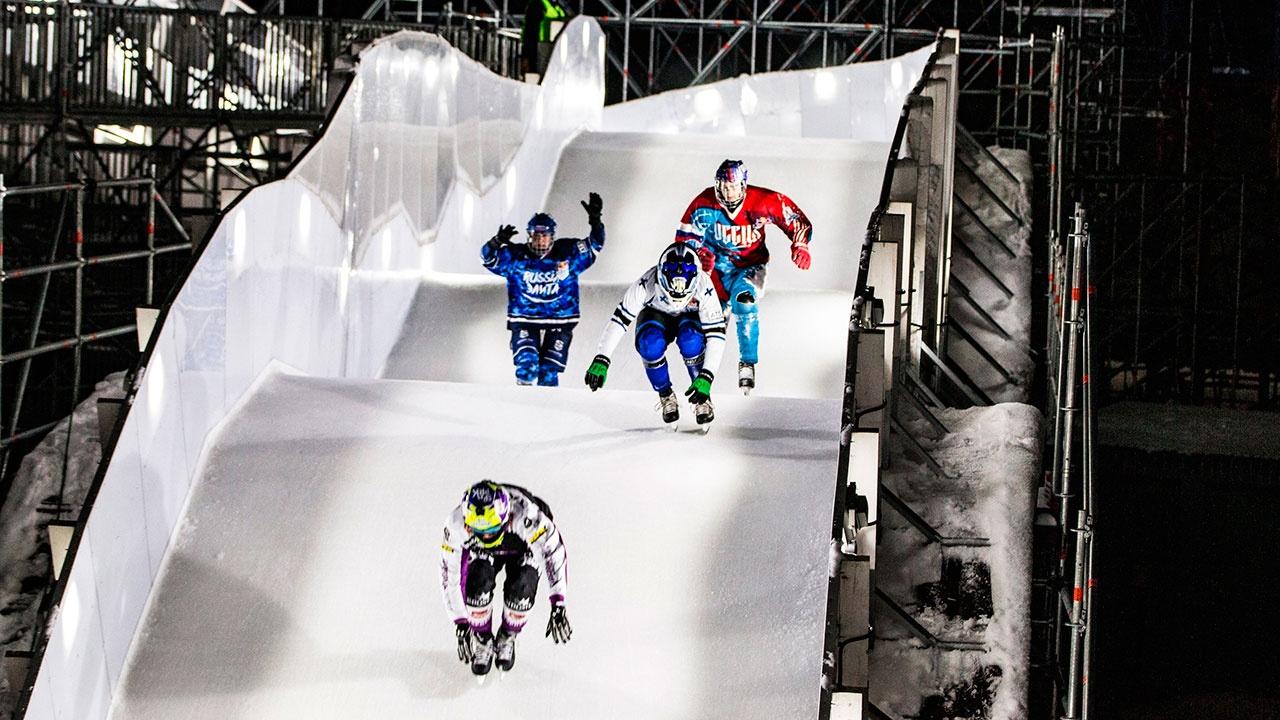 В Парке «Патриот» прошел чемпионат России по скоростному спуску на коньках
