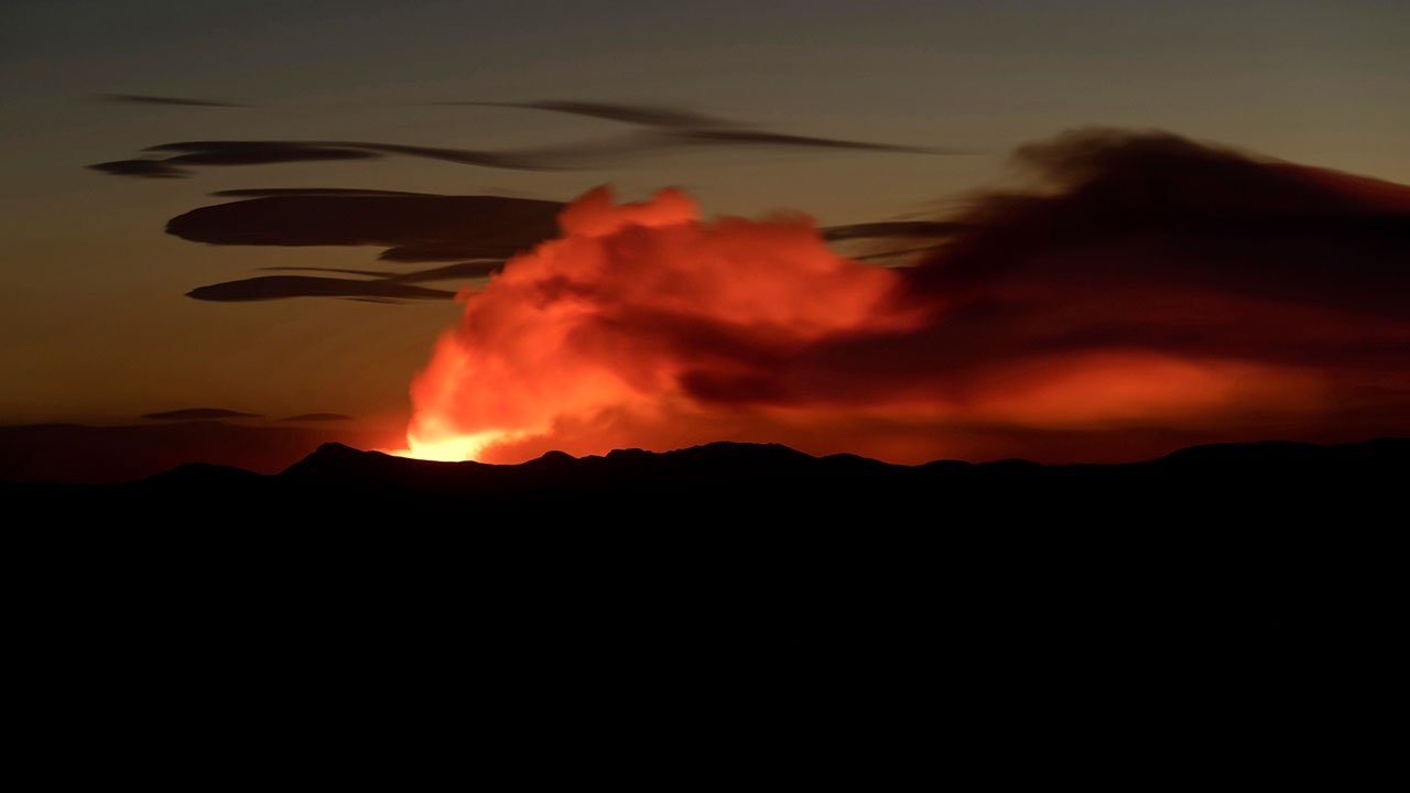 В Исландии спустя 6000 лет пробудился вулкан