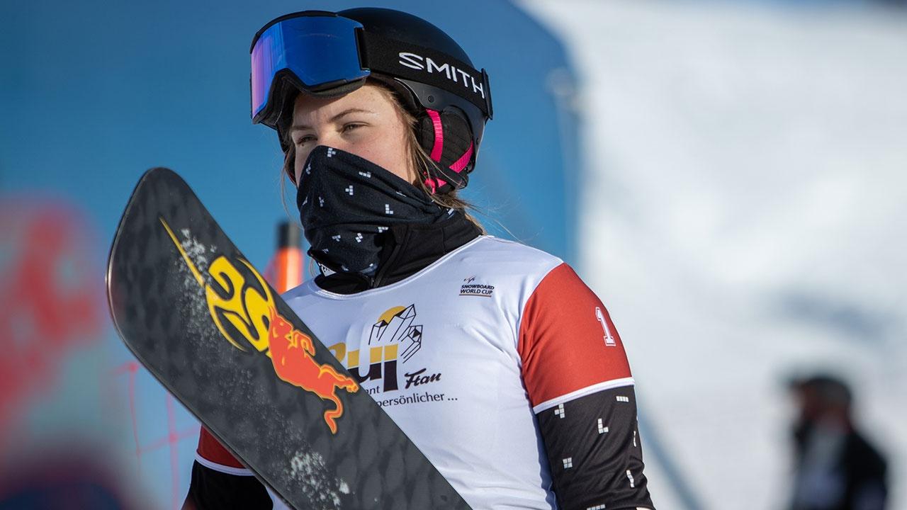 Россиянка Надыршина стала второй в зачете Кубка мира по сноуборду в параллельных дисциплинах