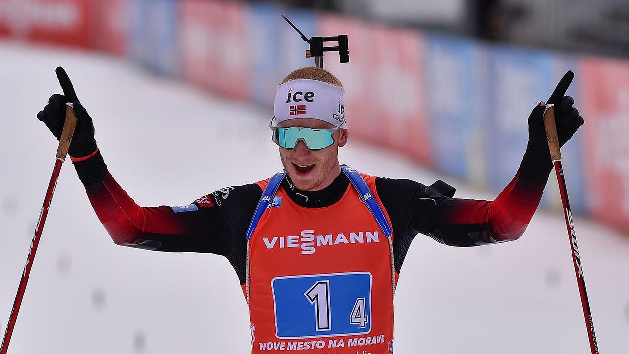 Кубок мира по биатлону достался норвежцу Йоханнесу Бе
