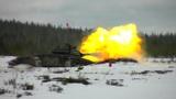 Грохот орудий и лязг гусениц: лучшие механики-водители ЗВО вышли на трассу «Танкового биатлона» в Ленобласти