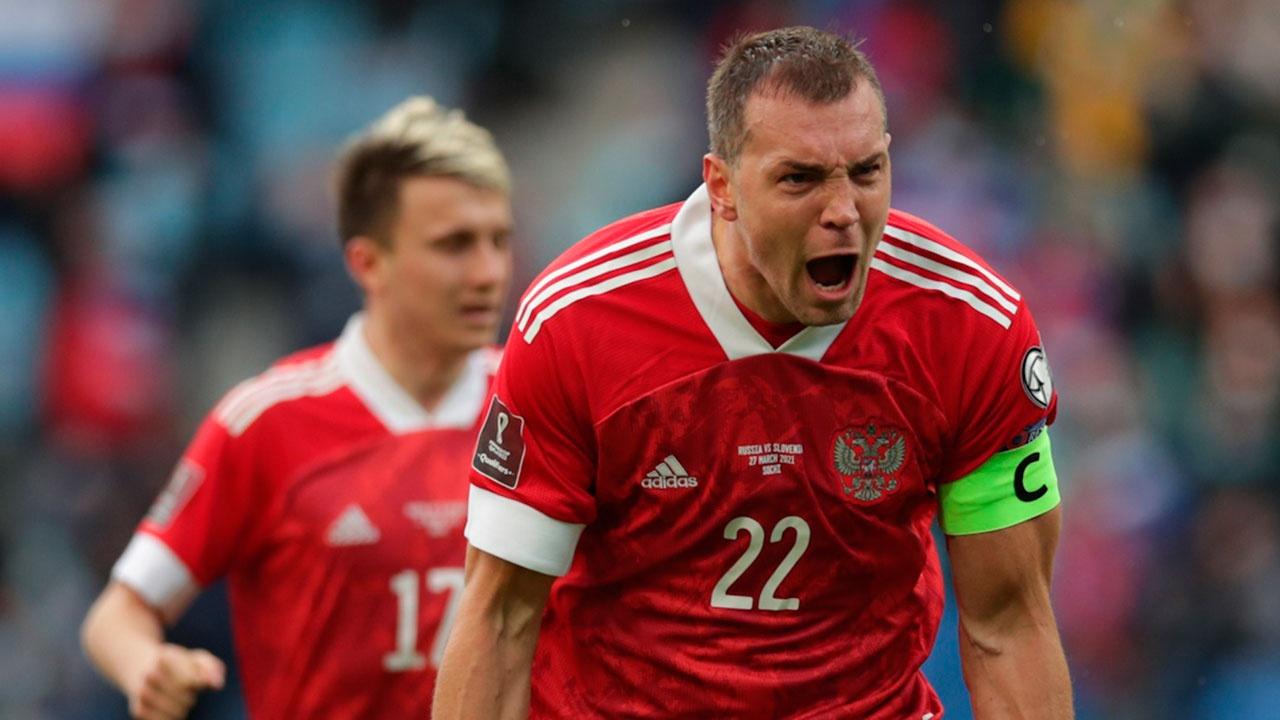 Сборная России обыграла команду Словении в матче отборочного тура ЧМ