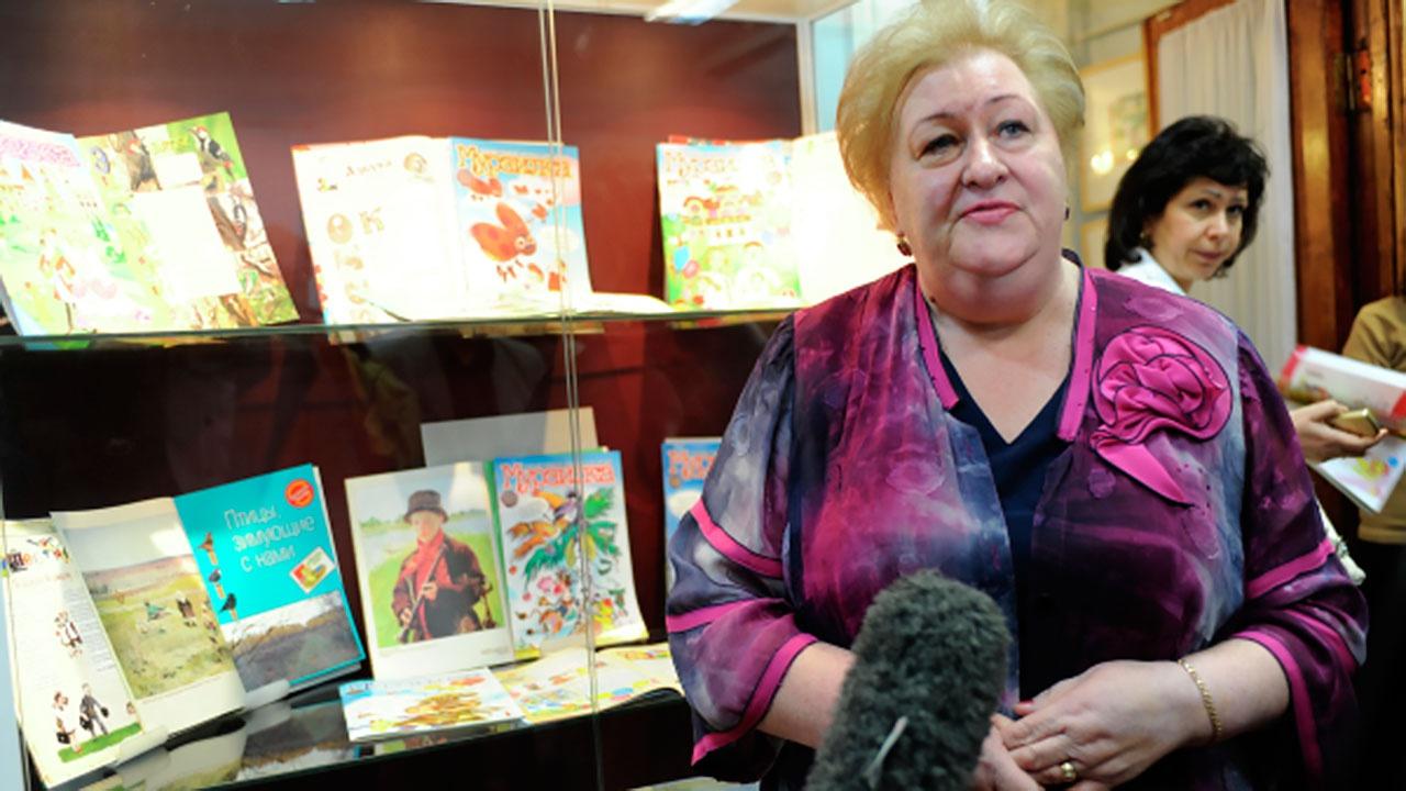 Умерла главный редактор журнала «Мурзилка» Татьяна Андросенко