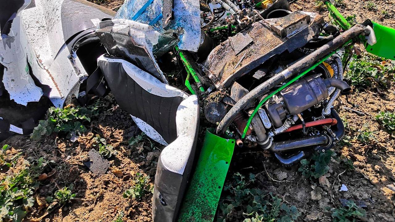 Два человека погибли при крушении вертолета под Прагой
