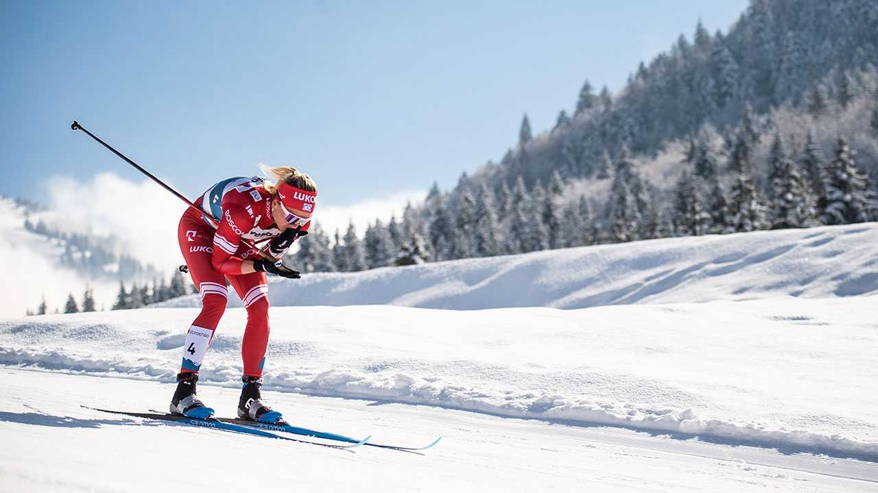 Лыжники Татьяна Сорина и Артем Мальцев выиграли индивидуальные гонки на ЧР