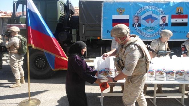 Российские военнослужащие проведут в Сирии акцию «Гуманитарный экспресс»