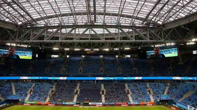Оргкомитет Евро-2020 увеличил заполняемость трибун в Санкт-Петербурге до 50%