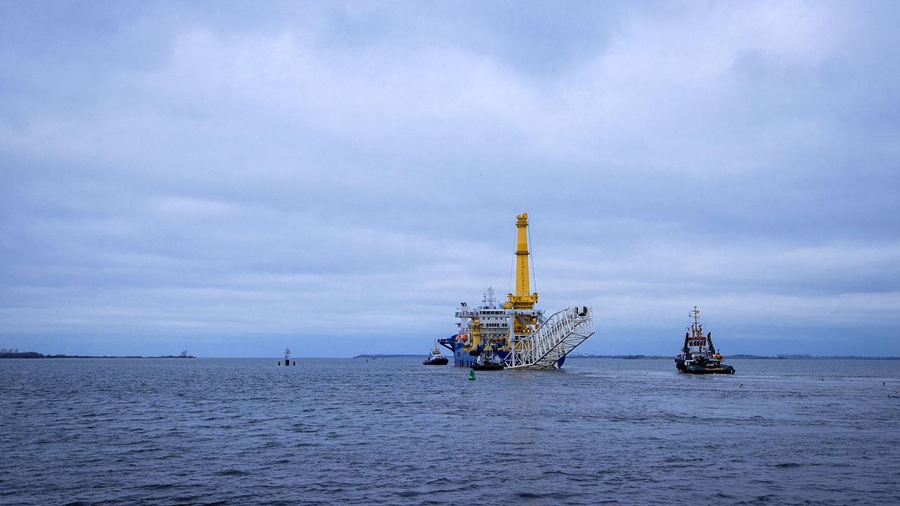 Оператор «Северного потока - 2» рассказал о провокациях со стороны иностранных военных кораблей