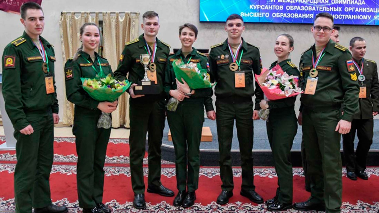 Россияне заняли первое место на международной олимпиаде курсантов по иностранному языку