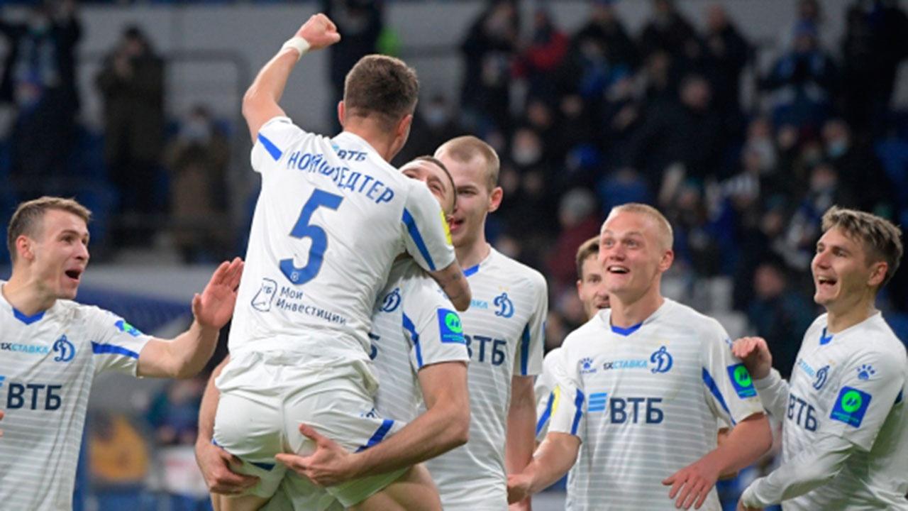«Динамо» разгромило «Уфу» в домашнем матче РПЛ